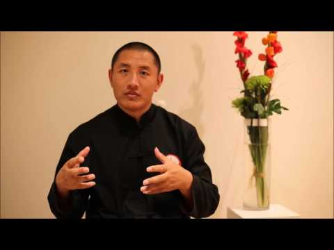 Discussion about Tibetan healing meditation with Tulku Lobsang