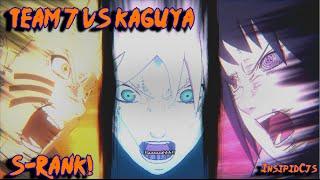 """Naruto Ultimate Ninja Storm 4: Team 7 Vs Kaguya S-Rank """"Kaguya The ..."""