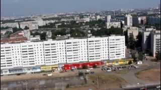 Строительство жилого комплекса «Флагман»(Вид на окрестности города Казани с высоты 19-го этажа строительства жилого комплекса «Флагман» на Проспекте..., 2012-07-20T07:39:45.000Z)