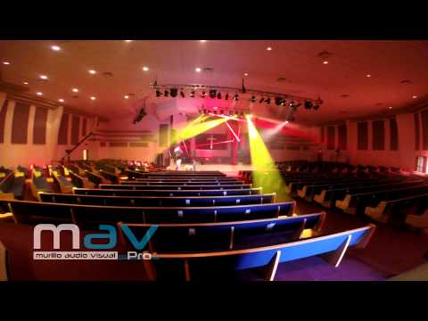 Murillo Audio Visual - Stage Lighting Setup and Programming
