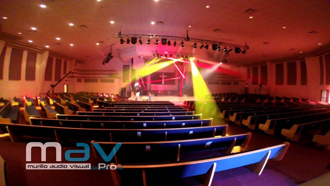 & Murillo Audio Visual - Stage Lighting Setup and Programming - YouTube azcodes.com