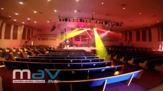 Murillo Audio Visual - Stage Lighting Setup and Programming