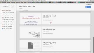 hướng dẫn download từ Google Drive