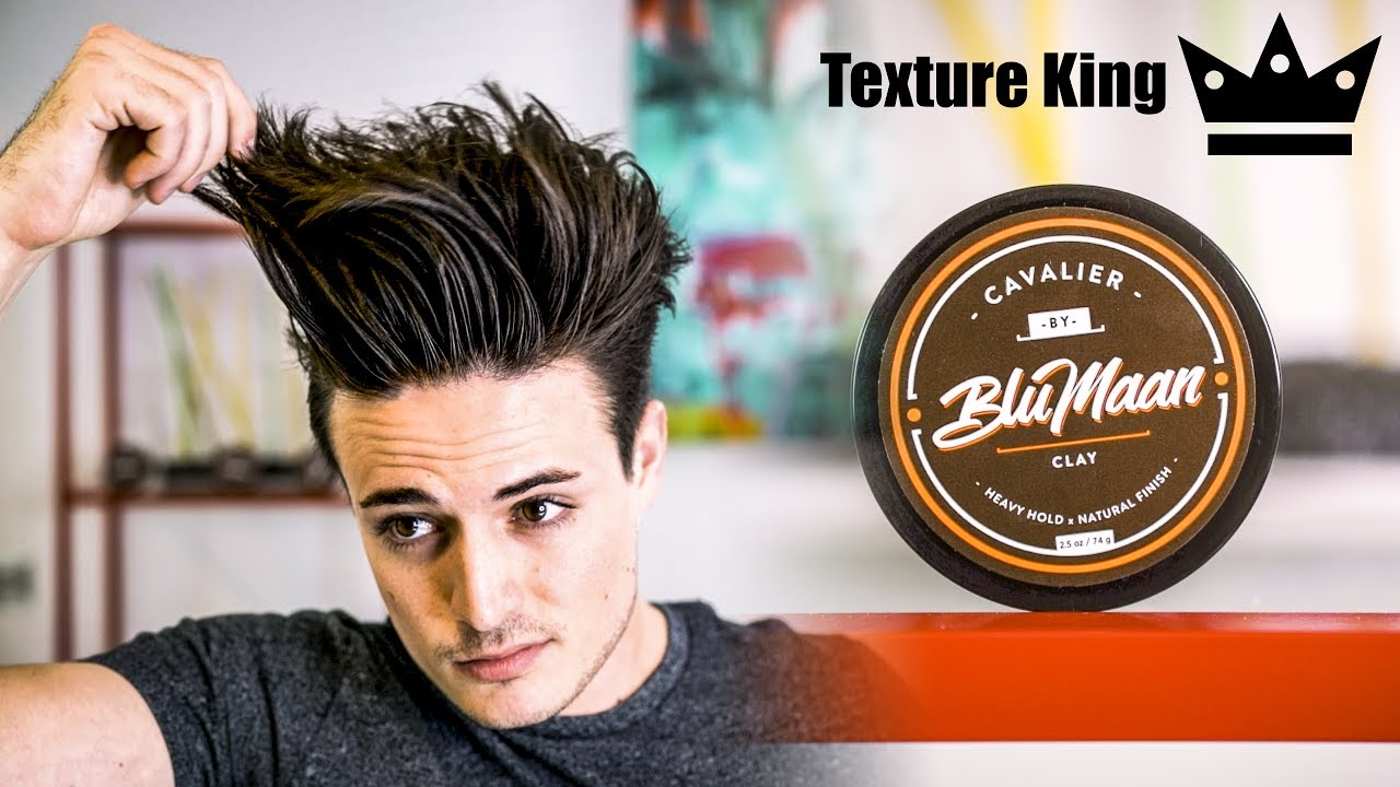 Mens Hair How To Style Your Hair With Hair Clay Mens