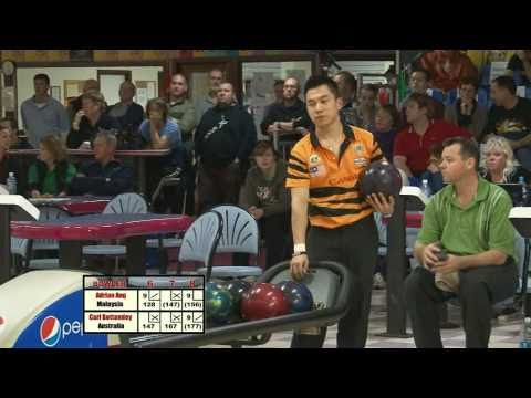 Melbourne Cup 2010 Mens Grand Final - Carl Bottomley (QLD) V's Adrian Ang (MALAYSIA)