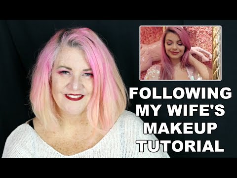 I Tried To Follow My Wife's Makeup Tutorial (Julia Zelg) thumbnail