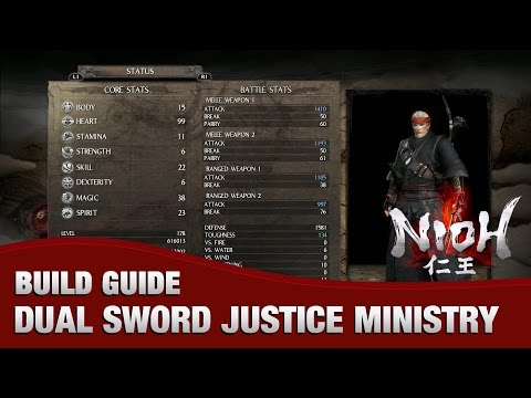 best armor for dual sword nioh