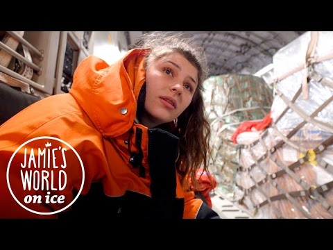 Flying to Antarctica in an Airforce Plane! Jamie's World on Ice | Episode 1