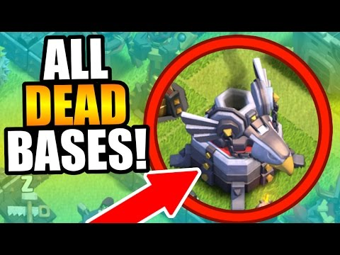 Clash Of Clans - EVERY BASE IS DEAD!! - WHERE TO FIND DEAD BASES! CoC 2016!