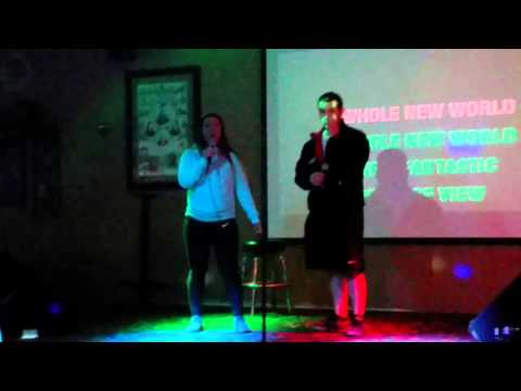 Gabe and Diana - Aladdin - Karaoke