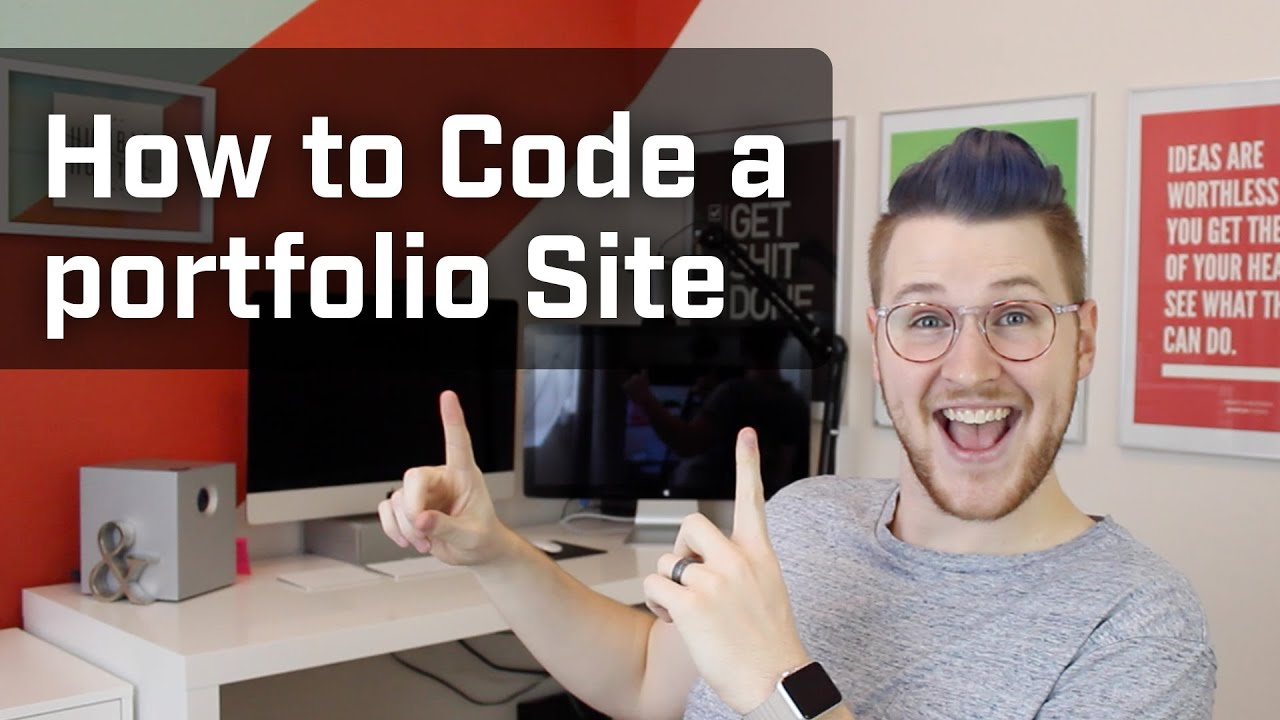 How to Code a Portfolio Site (Week 8 of 12) by Mackenzie Child