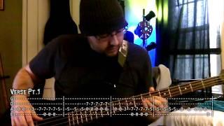 """The Unforgiven"" - Metallica -=- Bass w/ Tabs (HD Cover)"