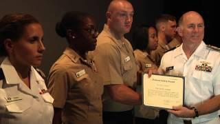 Navy Surgeon General Visits NAVSTA Rota