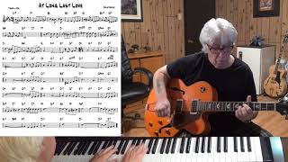 At Long Last Love - Jazz guitar & piano cover ( Cole Porter )