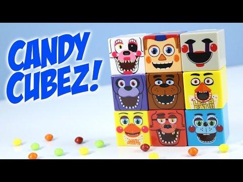 Five Nights at Freddy's 3 in 1 Candy + Dispenser CUBEZ Radz