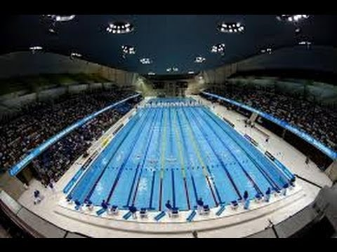 Jram jeux olympiques la piscine youtube for Piscine olympique
