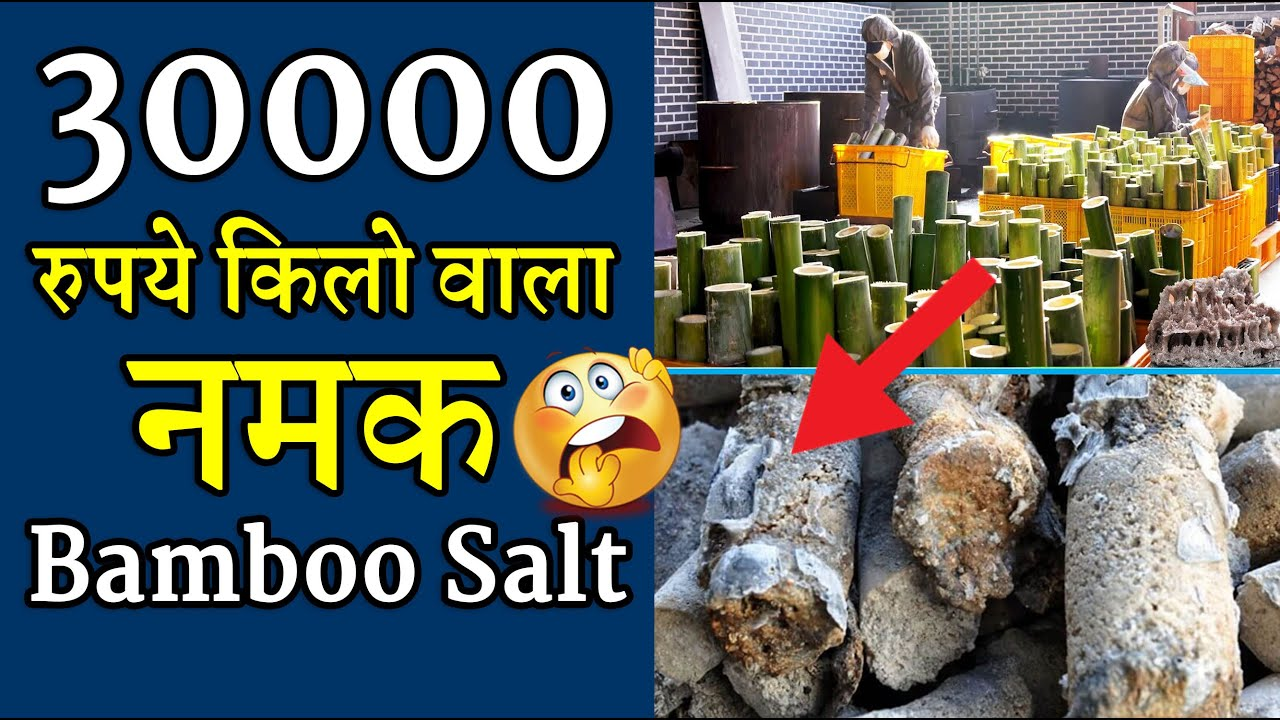 30000 रुपये किलो का नमक  | बम्बू साल्ट | YouTube Video Amazing Facts #shorts