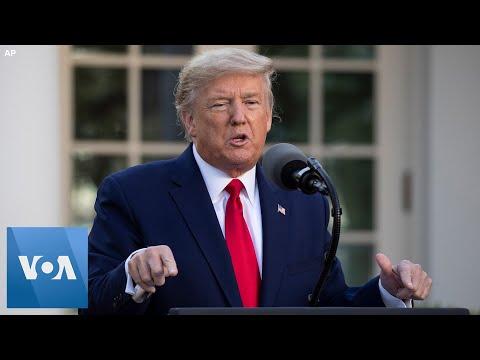Coronavirus: U.S. President Trump Says Next 30 Days Are 'Vital'