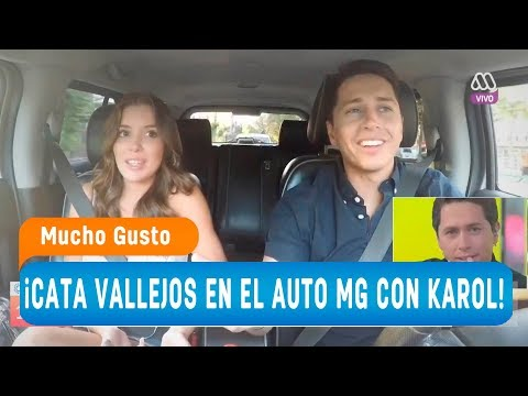 ¡Cata Vallejos se subió a #ElAutoMG con Karol! - Mucho gusto 2018
