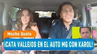 Cata Vallejos se subi a ElAutoMG con Karol - Mucho gusto 2018