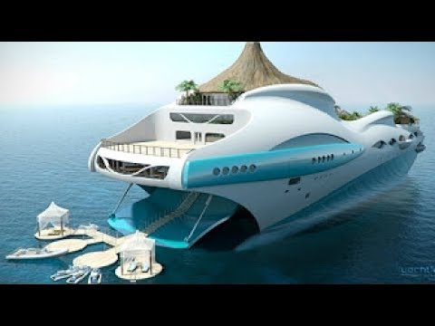 Biggest super yacht concepts ever imagined: Biggest, most expensive super yacht dreams - TomoNews