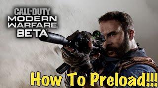 How To Preload Modern Warfare Beta On Xbox!! (Digital Preorder)