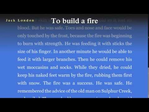 To build a fire summary sparknotes