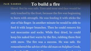 an analysis of to build a fire a book by jack london
