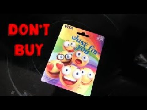 Never Buy Visa Gift Cards From Wal-Mart !!!