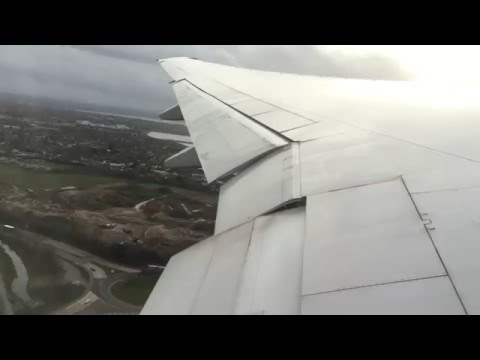 United Airlines 777-200 Take Off London Heathrow