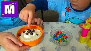 Готовим малиновое шоколадное мороженое с тётей Людой Make raspberry chocolate ice cream at home(, 2015-07-04T17:33:13.000Z)