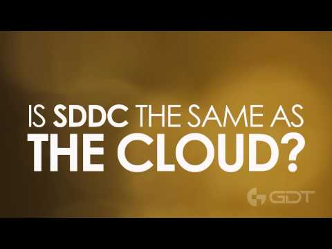 What is SDDC?