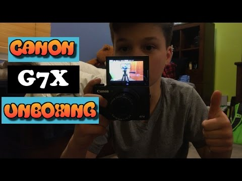 Canon G7X Unboxing + Demo!