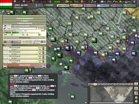 Hearts of Iron 3 Hungary Part 6 Operation Spearhead (April 1939 to September 1939)