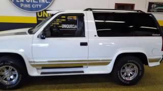 1995 Chevrolet Tahoe 2dr LT