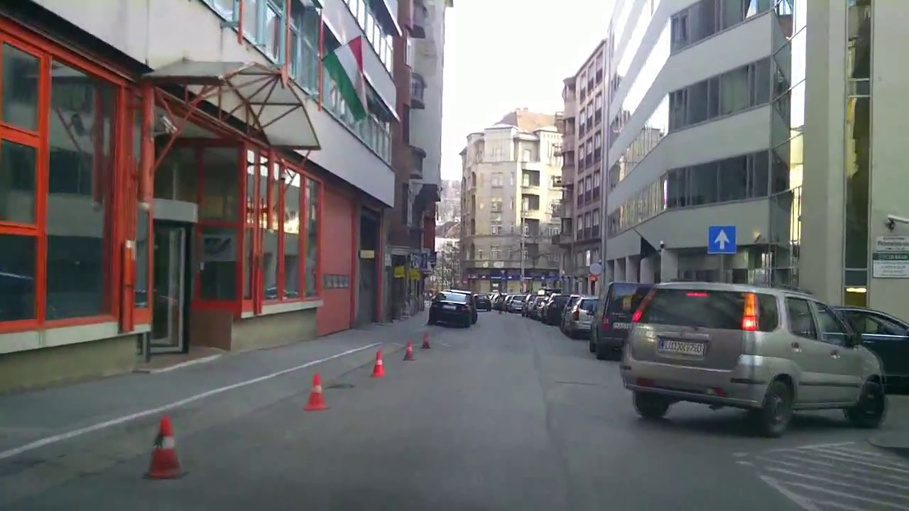 Budapest dashcam: inner city life