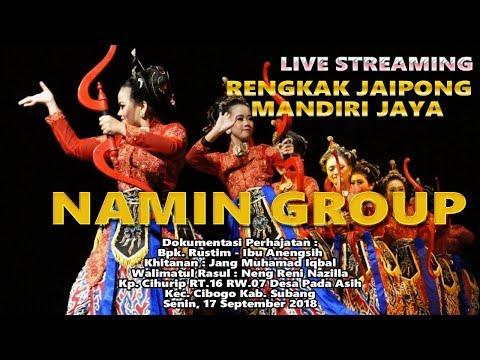 Joged Jaipong Mandiri Jaya NAMIN GROUP | Pada Asih - Cibogo - Subang | Malam