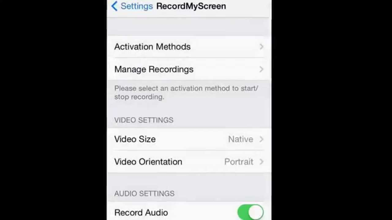 how to get a screen recorder on iphone for snapchat