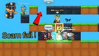 Pixel worlds | Scam fail ! *WENT WRONG*
