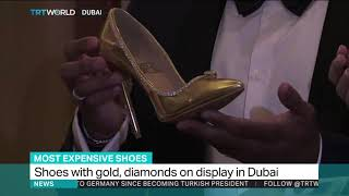 World's most expensive pair of shoes go on display
