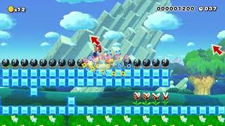 【マリオメーカー】UnSane speedrun #1(ノーカット)【Super Mario Maker】