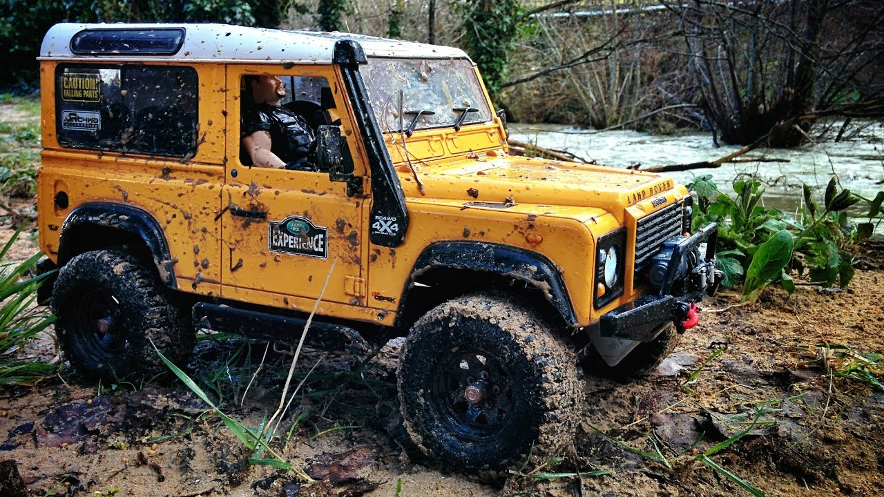 land rover defender d90 rc offroad i youtube. Black Bedroom Furniture Sets. Home Design Ideas