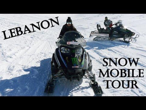 ❅Lebanon❅ - Snowmobile Tour in Faraya!