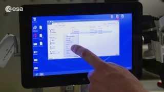 Astronaut training: Haptics/Interact - Tablet PC Handling
