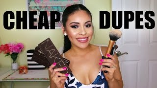 CHEAP DRUGSTORE Dupes For Popular High End Makeup 2016 | JuicyJas