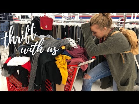 BIGGEST THRIFT HAUL OF 2018 | Come With Us