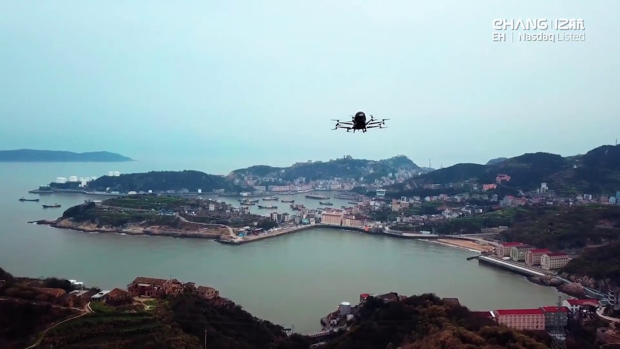 China's EHang wins approval to use autonomous aerial vehicles for air logistics