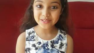 8 years old Wonder Girl Ayat Shaikh&#39s interview.. mindblowing answers
