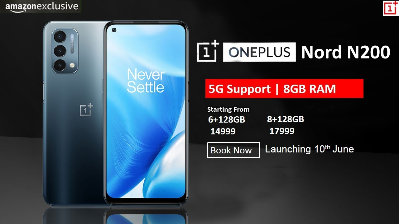 Download OnePlus Nord N200 5G - Dear Past, Amazon Exclusive | Best Budget 5G Smartphone | OnePlus Nord N200
