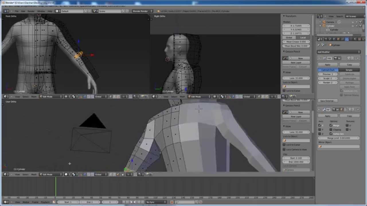 Character Modeling Blender Pdf : Blender character modeling tutorial part youtube